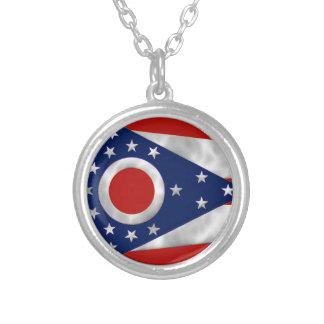 Bandera del estado de Ohio Pendiente