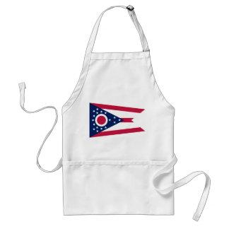 Bandera del estado de Ohio Delantales