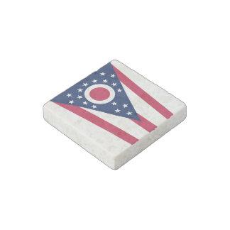 Bandera del estado de Ohio Imán De Piedra
