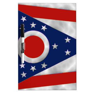 Bandera del estado de Ohio Tableros Blancos