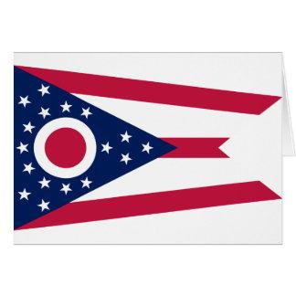 Bandera del estado de Ohio Tarjetas