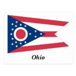 Bandera del estado de Ohio Tarjeta Postal