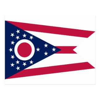 Bandera del estado de Ohio Tarjetas Postales