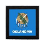 Bandera del estado de Oklahoma Cajas De Recuerdo