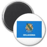 Bandera del estado de Oklahoma Imán Para Frigorífico