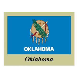 Bandera del estado de Oklahoma Postal