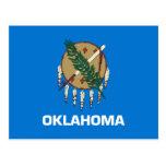 Bandera del estado de Oklahoma Tarjeta Postal
