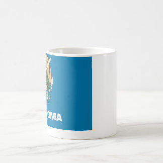 Bandera del estado de Oklahoma Tazas De Café