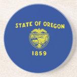 Bandera del estado de Oregon Posavasos Diseño