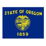 Bandera del estado de Oregon Postal