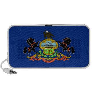 Bandera del estado de Pennsylvania Mp3 Altavoz
