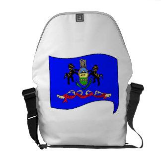 Bandera del estado de Pennsylvania Bolsas Messenger