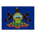Bandera del estado de Pennsylvania Felicitaciones