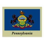 Bandera del estado de Pennsylvania Tarjetas Postales