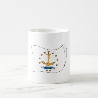 Bandera del estado de Rhode Island Taza