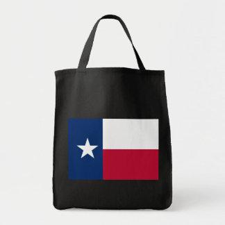 Bandera del estado de Tejas Bolsa Tela Para La Compra