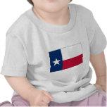 Bandera del estado de Tejas Camisetas