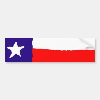 Bandera del estado de Tejas del arte pop Pegatina Para Auto