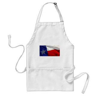Bandera del estado de Tejas Delantal