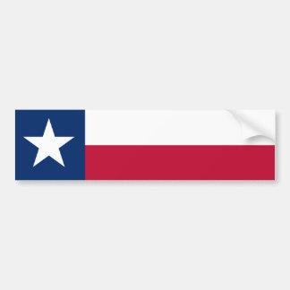 Bandera del estado de Tejas Pegatina Para Auto