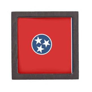 Bandera del estado de Tennessee Caja De Joyas De Calidad