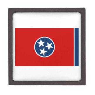 Bandera del estado de Tennessee Cajas De Joyas De Calidad