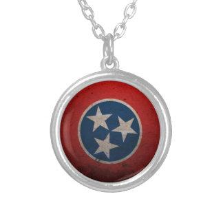 Bandera del estado de Tennessee Colgante Redondo