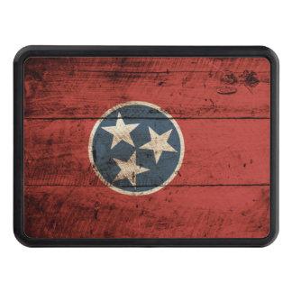Bandera del estado de Tennessee en grano de madera Tapas De Tráiler