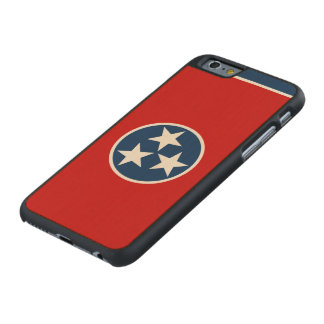 Bandera del estado de Tennessee Funda De iPhone 6 Carved® De Arce