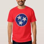 bandera del estado de Tennessee Playera
