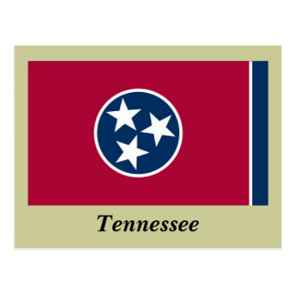 Bandera del estado de Tennessee Postal