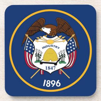 Bandera del estado de Utah Posavasos De Bebidas