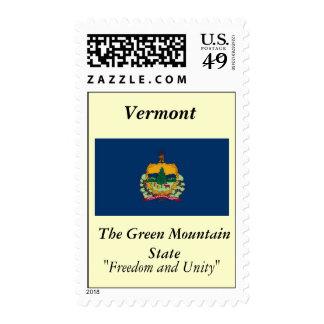 Bandera del estado de Vermont Franqueo