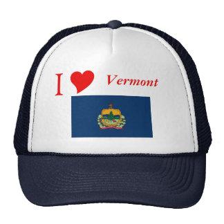 Bandera del estado de Vermont Gorros Bordados