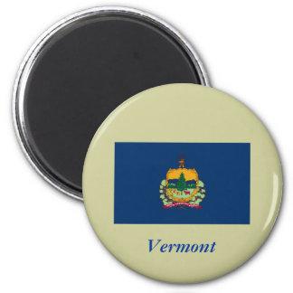 Bandera del estado de Vermont Imán