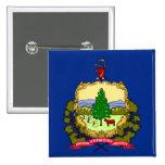 Bandera del estado de Vermont Pin