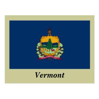 Bandera del estado de Vermont Postal