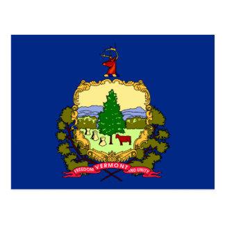 Bandera del estado de Vermont Postales