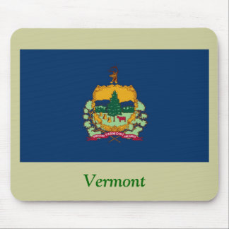 Bandera del estado de Vermont Tapete De Raton