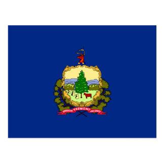 Bandera del estado de Vermont Tarjetas Postales