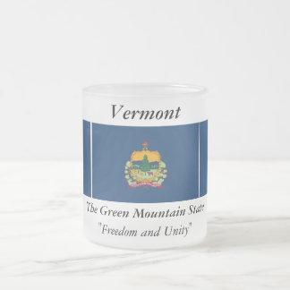 Bandera del estado de Vermont Taza De Cristal