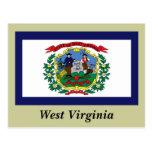Bandera del estado de Virginia Occidental Postal