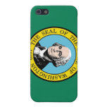 Bandera del estado de Washington iPhone 5 Fundas