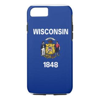 Bandera del estado de Wisconsin Funda iPhone 7