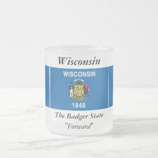 Bandera del estado de Wisconsin Taza De Café
