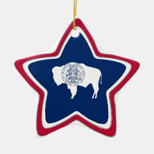 Bandera del estado de Wyoming Adorno De Reyes