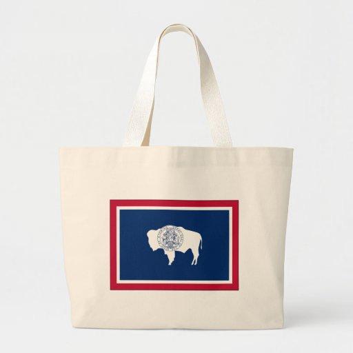 Bandera del estado de Wyoming Bolsas