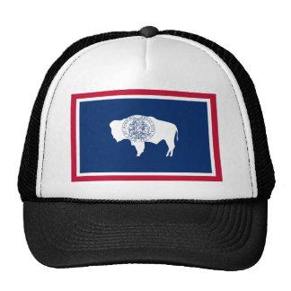 Bandera del estado de Wyoming Gorro De Camionero