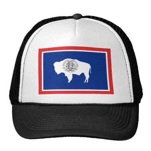 Bandera del estado de Wyoming Gorras