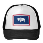 Bandera del estado de Wyoming Gorras De Camionero